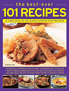 The Best-Ever 101 Recipes: A Card Deck of Delicious Step-By-Step Recipes