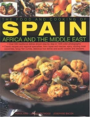 The Food and Cooking of Spain, Africa and the Middle East: 9780754816232