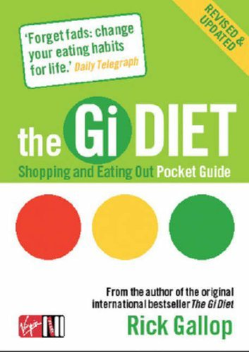 Gi Diet Shopping and Eating Out Pocket Guide 9780753510322