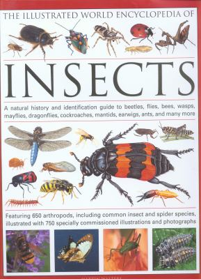 The Illustrated World Encyclopedia of Insects: A Natural History and Identification Guide to Beetles, Flies, Bees, Wasps, Mayflies, Dragonflies, Cockr