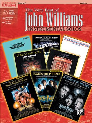 The Very Best of John Williams: Horn in F, Book & CD [With Accompaniment CD] 9780757923555