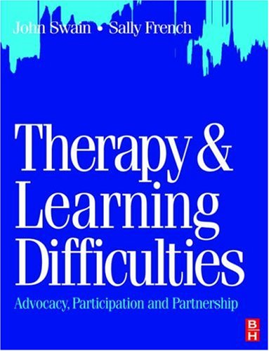 Therapy & Learning Difficulties: Advocacy 9780750639620
