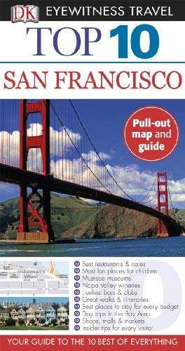 Top 10 San Francisco [With Map] 9780756660680