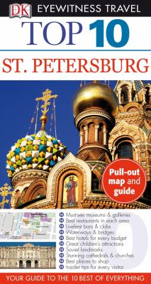 Top 10 St. Petersburg [With Map] 9780756660406