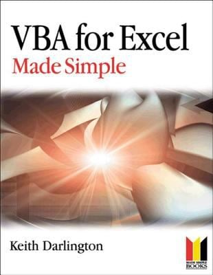 VBA for Excel Made Simple 9780750660976