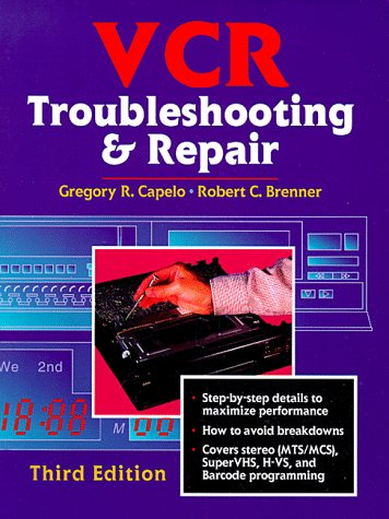 VCR Troubleshooting & Repair 9780750699402