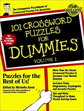 101 Crossword Puzzles for Dummies 9780764550683