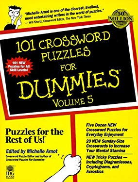 101 Crossword Puzzles for Dummies 9780764551437