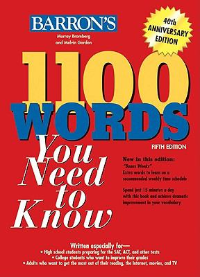 1100 Words You Need to Know 9780764138645