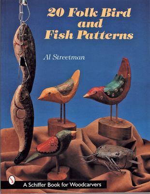 20 Folk Bird and Fish Patterns 9780764307799