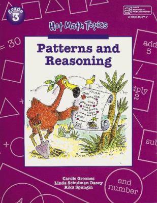 21875 Hot Math Topics: Patterns and Reasoning, Grade 3