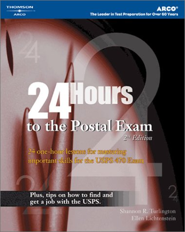 24 Hours to the Postal Exam 9780768914092