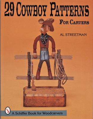 29 Cowboy Patterns for Carvers 9780764301872