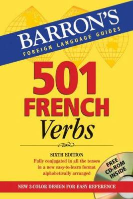 501 French Verbs: With CD-ROM [With CDROM] 9780764179839