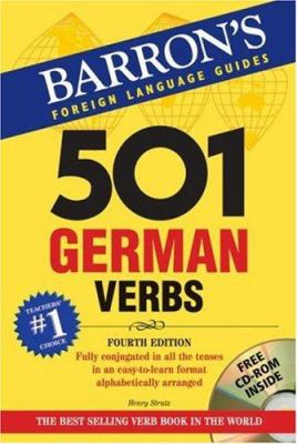 501 German Verbs [With CDROM] 9780764193934