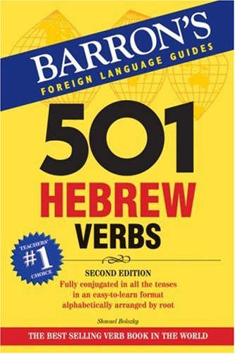 501 Hebrew Verbs 9780764137488