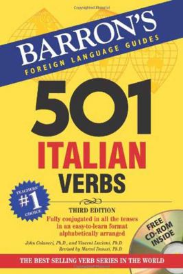 501 Italian Verbs [With CDROM] 9780764179822