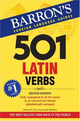 501 Latin Verbs 9780764137426