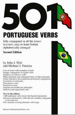 501 Portuguese Verbs 9780764129162