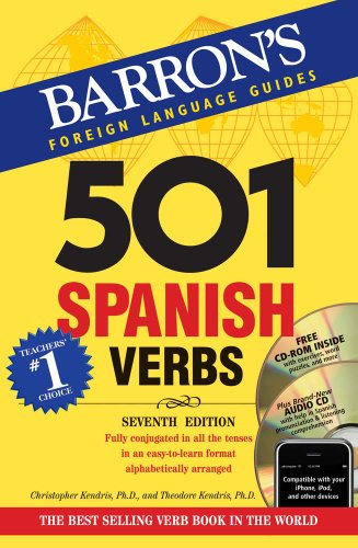 Barron's 501 Spanish Verbs [With CDROM and CD (Audio)] 9780764197970