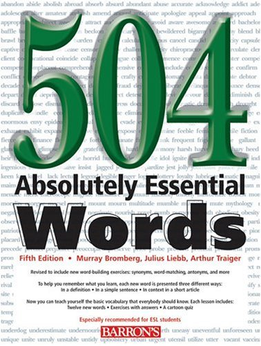 504 Absolutely Essential Words 9780764128158