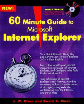 60 Minute Guide to Internet Explorer 3.0 9780764530289
