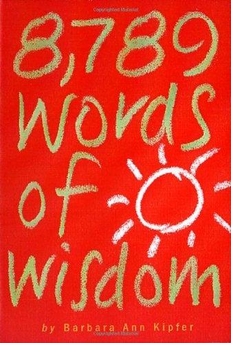 8,789 Words of Wisdom 9780761117308