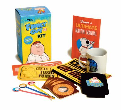 Family Guy Kit: Includes Freakin' Sweet Crapola! [With Poster and Beer Cozy, Bumper Stickers, Drink Stirrers, Etc. and Brian Griffin Coffee Mug and