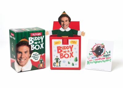 """Elf Talking Buddy-in-a-Box: """"""""Does somebody need a hug?"""""""" (Miniature Editions)"""