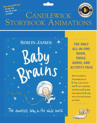 Baby Brains: The Smartest Baby in the Whole World [With Stickers and Interactive Poster and Hardcover Book] 9780763640248