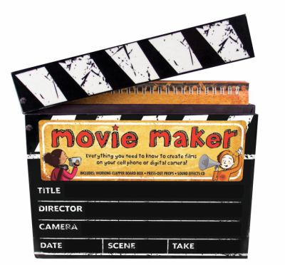 Movie Maker [With Special Effects Sticker Sheet and Clapper-Board Box, Press-Out Props, Storyboard Pad and CD ( 9780763649494
