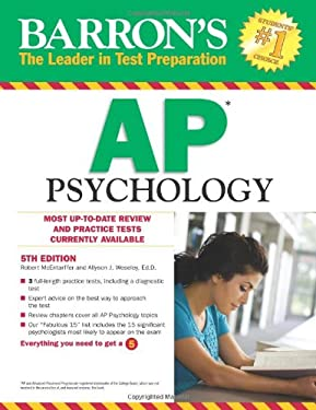 Barron's AP Psychology 9780764147012