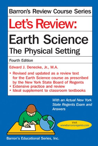 Let's Review Earth Science: The Physical Setting 9780764147180