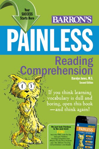 Painless Reading Comprehension 9780764147630