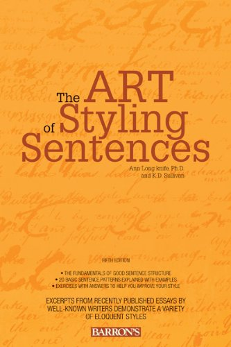The Art of Styling Sentences 9780764147838