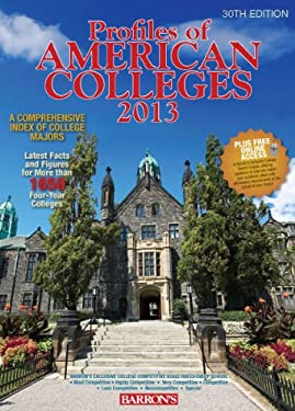 Barron's Profiles of American Colleges 9780764147845