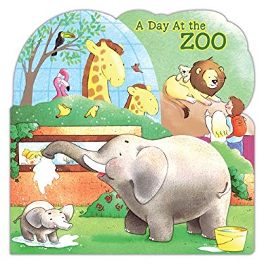 A Day at the Zoo 9780764165337