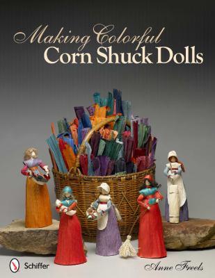 Making Colorful Corn Shuck Dolls