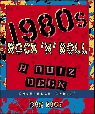 1980s Rock & Roll Knowledge Cards