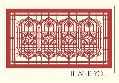 Frank Lloyd Wright: Thank You Notecards [With Envelope]