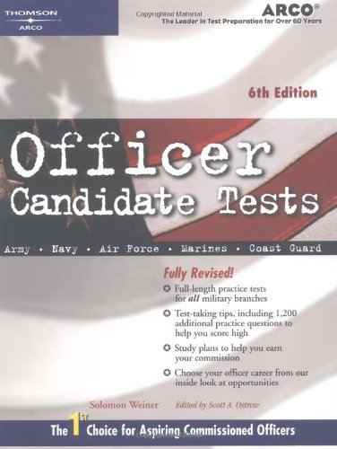 Officer Candidate 6e 9780768908473