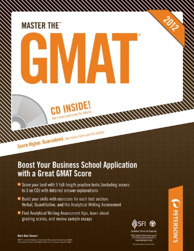 Master the GMAT 2012 - (W/ CD) 9780768931433