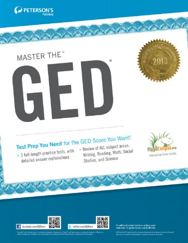 Peterson's Master the GED 9780768936032