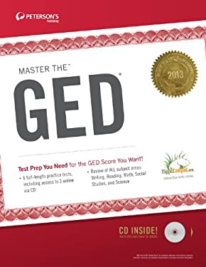 Master the GED 2013 (W/CD) 9780768936049