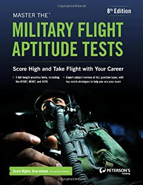 Master the Military Flight Aptitude Tests 9780768936056