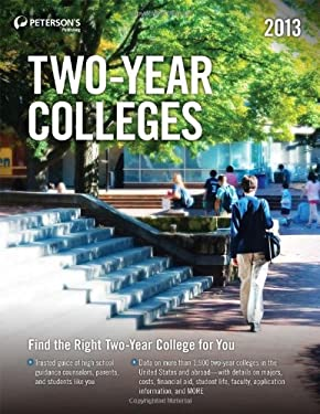Two-Year Colleges 2013 9780768936100