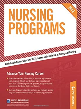 Peterson's Nursing Programs 9780768936179
