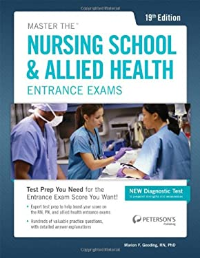 Master the Nursing School & Allied Health Exams Entrance Exam 9780768936186