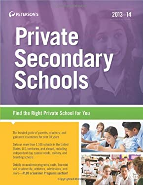 Private Secondary Schools 2013-14 9780768936278