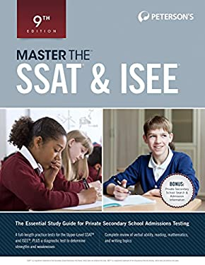 Master the SSAT & ISEE (Peterson's Master the SSAT & ISEE)